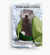 Groundhog Day Metal Print