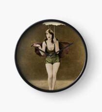 Victorian Circus Performer Clock