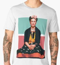 Frida Kahlo Vogue Men's Premium T-Shirt