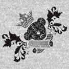 """DeadbeaR T-Shirt """"Patchwork"""" by Vivian Lau"""