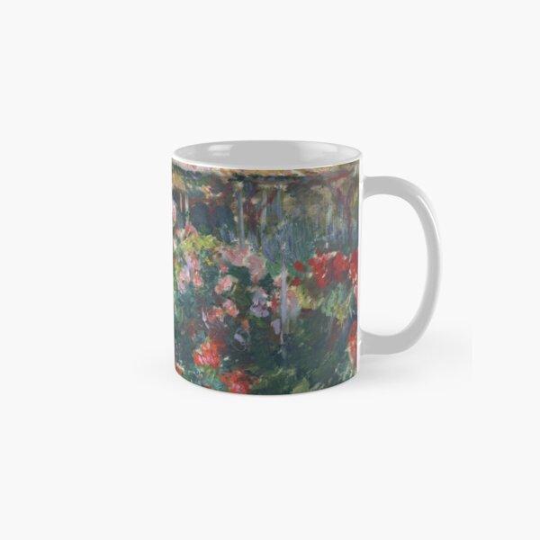 Peony Garden by Claude Monet Classic Mug