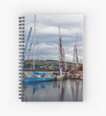 Summer on the River Foyle Spiral Notebook