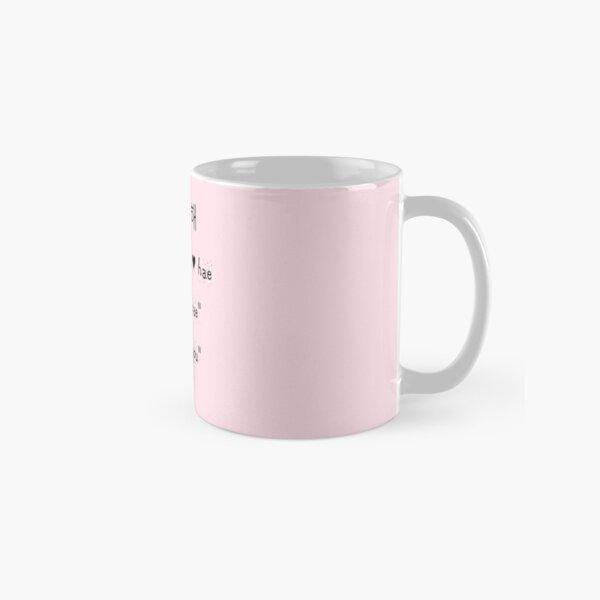 "[K-POP] ""SARANGHAE"" Collection Classic Mug"