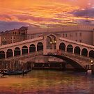 Rialto Bridge by Nigel Donald