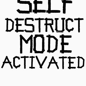 self destruct mode activated by gwschenk