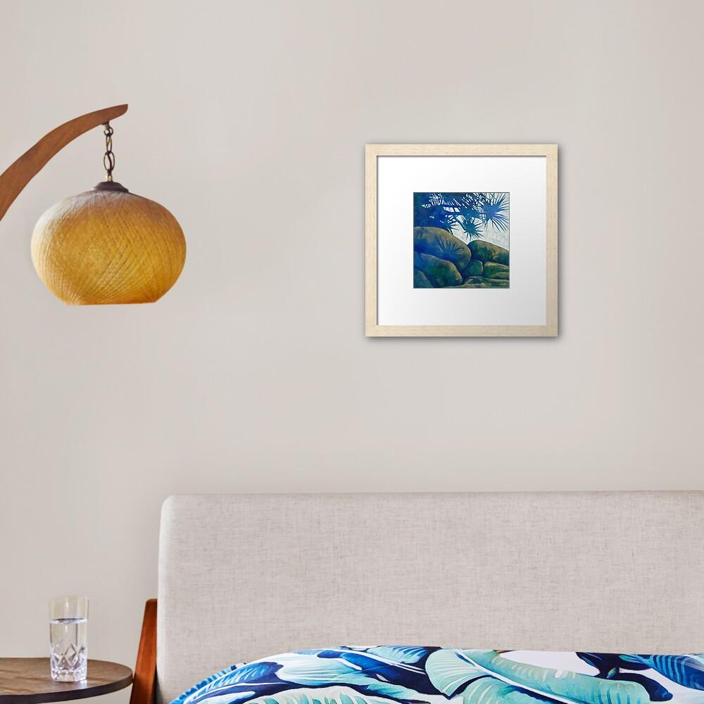 Picnic at Goanna Headland Framed Art Print