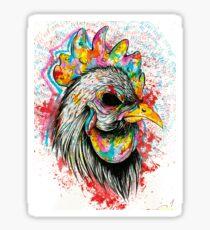 Mr. Rooster Sticker