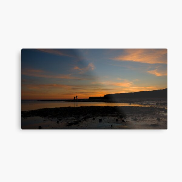 Kimmeridge Bay 2 Metal Print