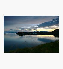 scenic landscape by night Photographic Print