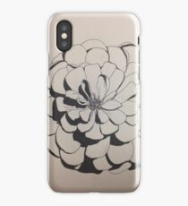 Ink Flower iPhone Case/Skin