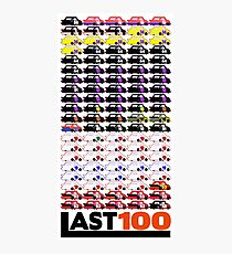 #LAST100 Paint Schemes 1991-2017 Photographic Print