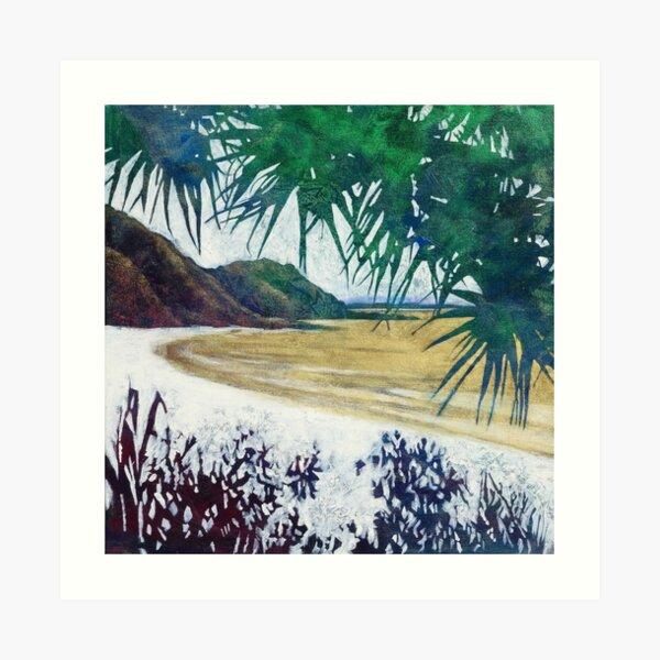 Wategos Beach, Byron Bay Art Print