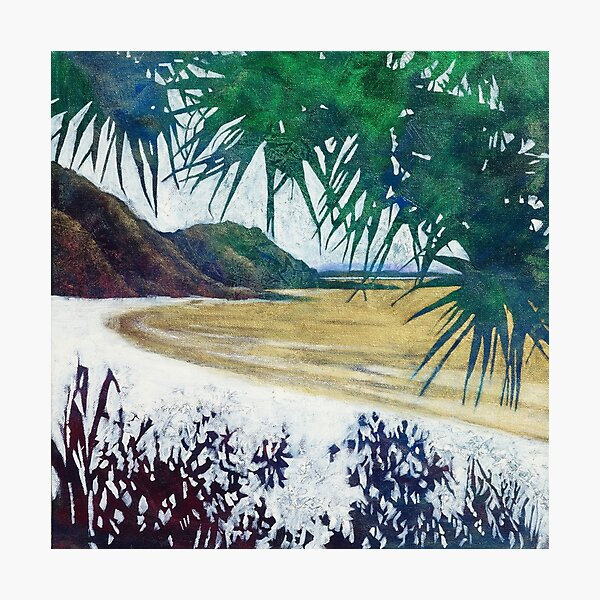 Wategos Beach, Byron Bay Photographic Print
