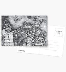 Ketterdam Map Postcards