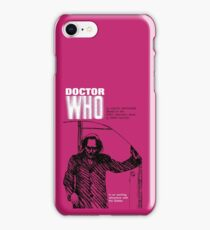 Doctor Who in an Exciting Adventure with the Daleks iPhone Case/Skin