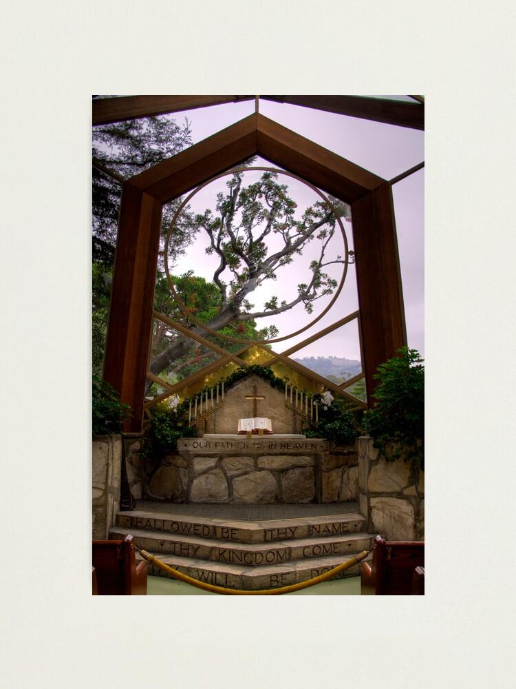 Alternate view of Wayfarers Chapel Photographic Print