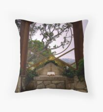 Wayfarers Chapel Throw Pillow