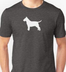 Bull Terrier Silhouette(s) T-Shirt