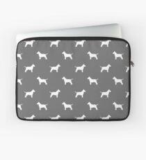 Bull Terrier Silhouette(s) Laptop Sleeve