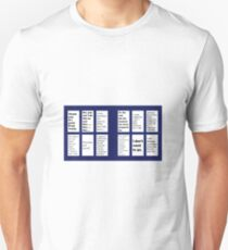 Doctor Who: The Last Words - Regeneration Quotes T-Shirt
