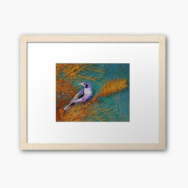 Mickey Bird Framed Art Print