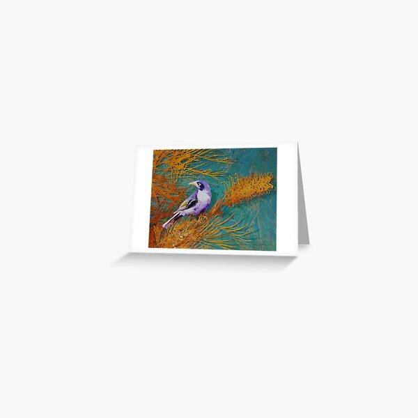 Mickey Bird Greeting Card
