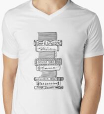 Collected Works of Jane Austen V-Neck T-Shirt