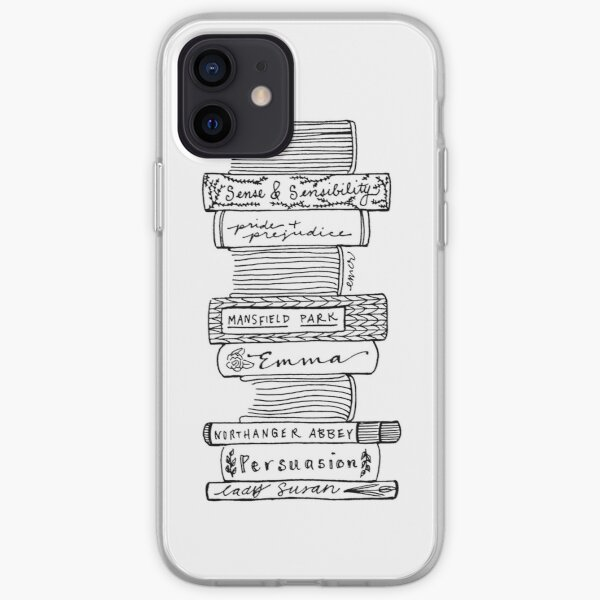 Collected Works of Jane Austen iPhone Soft Case