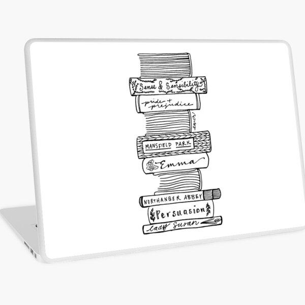 Oeuvres collectées de Jane Austen Skin adhésive d'ordinateur