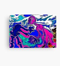 Chilly contact Canvas Print