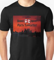 BAPS red - Barmy Army Perth Supporters Unisex T-Shirt