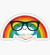Reading Rainbow Sticker