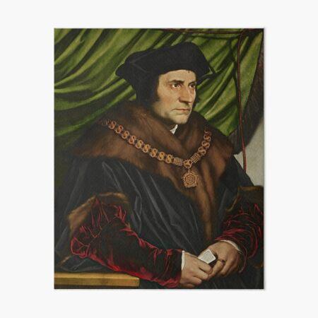 Sir Thomas More Painting Art Board Print