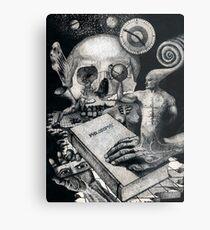 Beyond Knowledge Metal Print