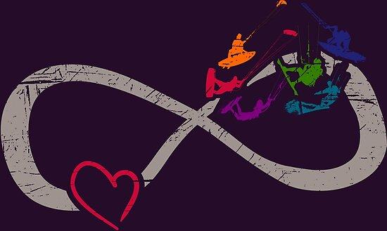 liebe ist unendlich