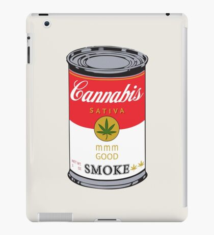 Campbell's Soup (Cannabis Sativa) - That 70's Show iPad Case/Skin