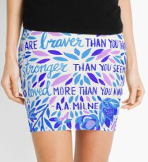 Always Remember – Indigo Palette Mini Skirt