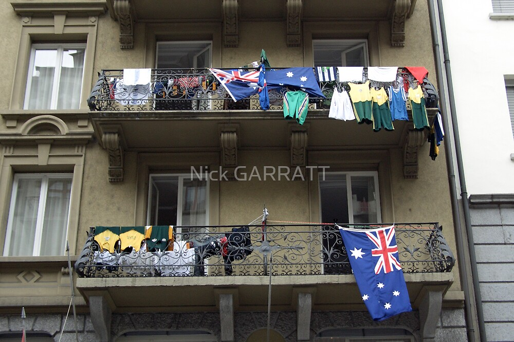 Aussie Team Hotel Lucerne by Nick GARRATT