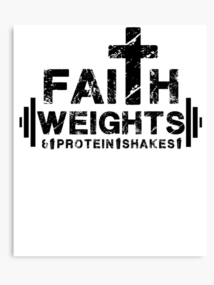 a344b74e Faith Weights Protein Shakes - Christian Fitness Gym