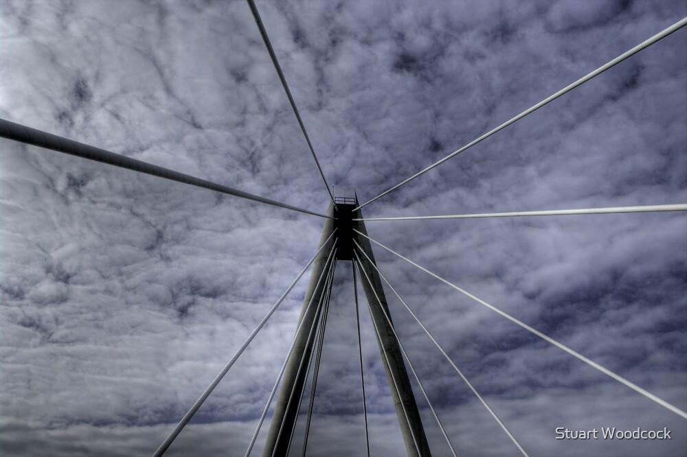 Marine Way Bridge, Southport by Stuart Woodcock