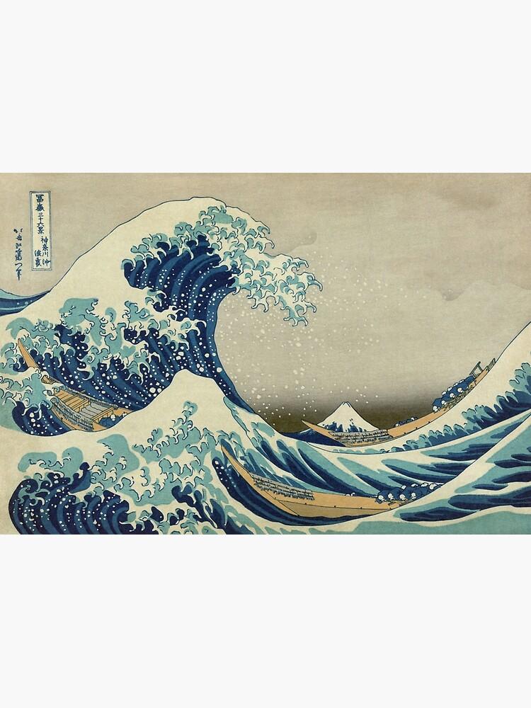 The Great Wave Off Kanagawa by warishellstore