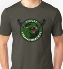 Sexual Tyrannosaurus Slim Fit T-Shirt