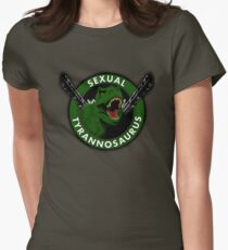 Sexual Tyrannosaurus Women's Fitted T-Shirt
