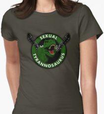 Sexual Tyrannosaurus Women's Fitted T-Shirt