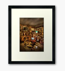 The Dentist Chair  Framed Print