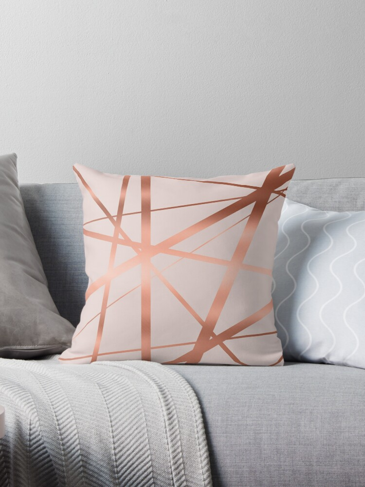 Pink and Copper Luxe by UrbanEpiphany