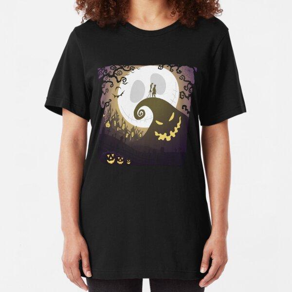 Nightmare before Halloween Slim Fit T-Shirt