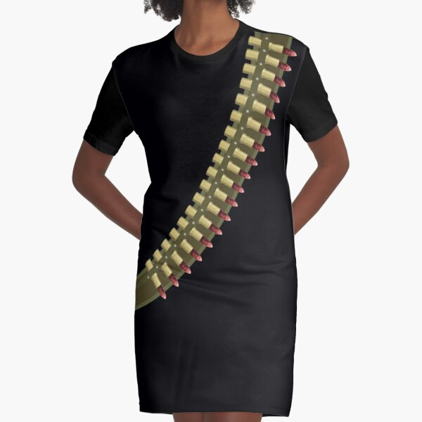 The Only Ammo You Need Graphic T-Shirt Dress