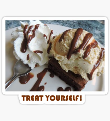 Treat Yourself (Brownie) Sticker
