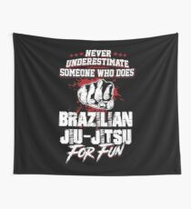 Never underestimate someone Wall Tapestry
